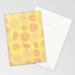 Paloma Grapefruit Stationery Cards