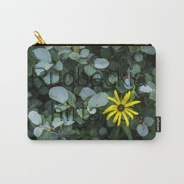 Black-eyed Susan (Maryland State Flower - Rudbeckia hirta) Carry-All Pouch