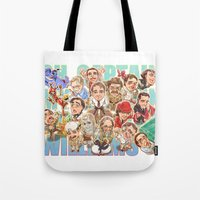 robin williams Tote Bags featuring Robin Williams by Arashi.C