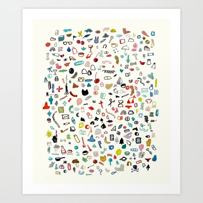 Discover the motif TREASURE by Beth Hoeckel as a print at TOPPOSTER