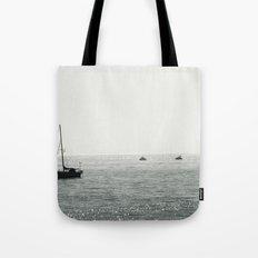 Out At Sea Tote Bag