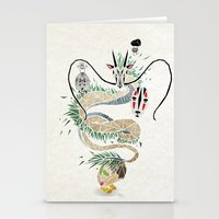 spirited away Stationery Cards featuring spirited away by Manoou