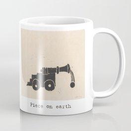 Piece on earth Coffee Mug