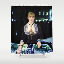 A DJ at the Folies-Bergère Shower Curtain