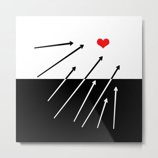 heart. Metal Print