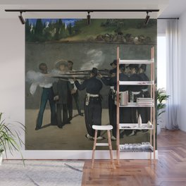 "Édouard Manet ""The Execution of the Emperor Maximillian"" Wall Mural"
