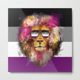 Ace Lion Pride Metal Print