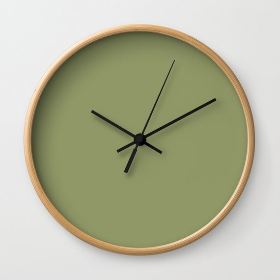 Olive Green Color Solid by kierkegaart