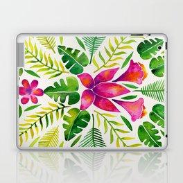 Tropical Symmetry – Pink & Green Laptop & iPad Skin