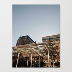 Building & Shadows Canvas Print