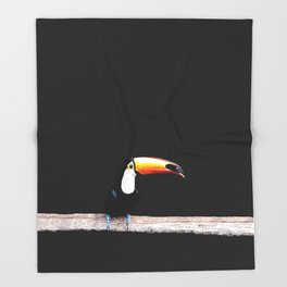 toucano black Throw Blanket