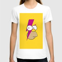 homer T-shirts featuring Homer Stardust by lapinette