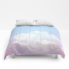 Dreamy Cotton Blue Sky Comforters
