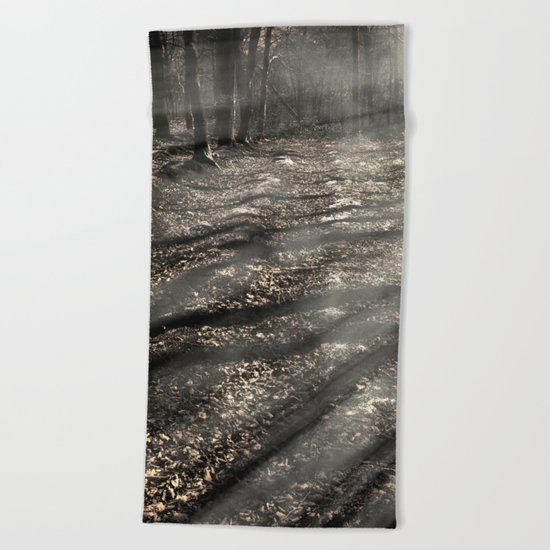 Blair Witch....over there! Beach Towel
