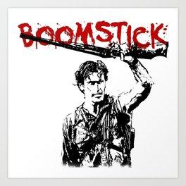 my boomstick Art Print