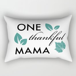Thankful Mama Rectangular Pillow