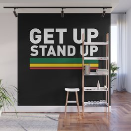 Get Up Stand Up / Rasta Vibrations Wall Mural
