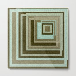 Abstraction . Geometric shapes . 1 Metal Print