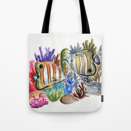 Dying Reef Tote Bag
