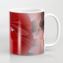 red polynomial flower -2- Coffee Mug