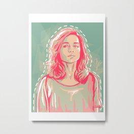 allison + colors Metal Print