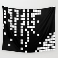 pixel Wall Tapestries featuring Pixel by only+if