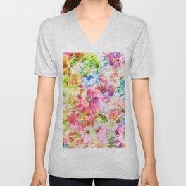 tendres fleurs des champs Unisex V-Neck