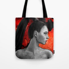 Red Warrior Tote Bag