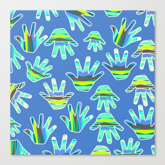 Marine gloves Canvas Print
