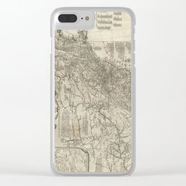 Map of the middle British colonies in North America - 1776 Clear iPhone Case
