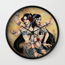 Dance Eternal Wall Clock