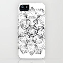 Dotts Mandala iPhone Case