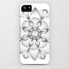 Dotts Mandala iPhone Case