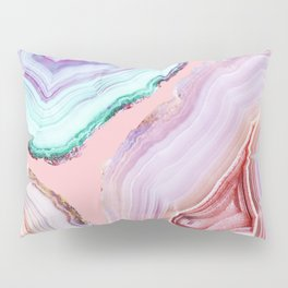 Mineral Agates #Glam collection Pillow Sham