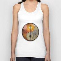 yin yang Tank Tops featuring yin yang by Vector Art