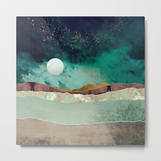 Spring Night Metal Print
