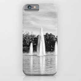 Morning Water iPhone Case