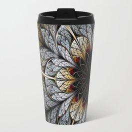 Flower II - Abstract Fractal Artwork Travel Mug