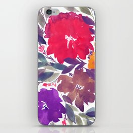 hand painted flowers_2a iPhone Skin