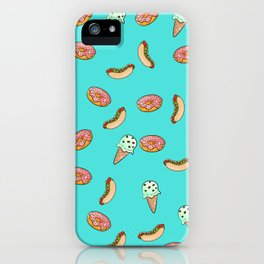 Sweet and desserts iPhone Case