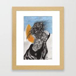 """""""Son He Sided Up As He Awoke"""" Framed Art Print"""