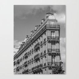 Paris architecture Canvas Print