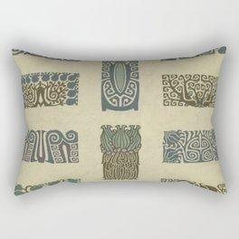 Art Nouveau Patterns Rectangular Pillow