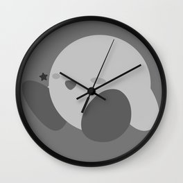 Kirby(Smash)White Wall Clock
