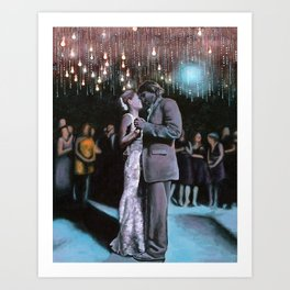 Kelley and Ryan's Wedding Art Print