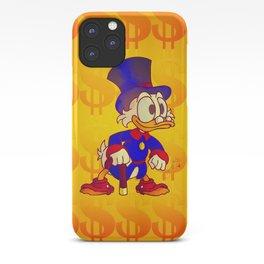 Uncle Scrooge - Ducktales iPhone Case