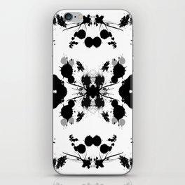 Rorschach 8 iPhone Skin