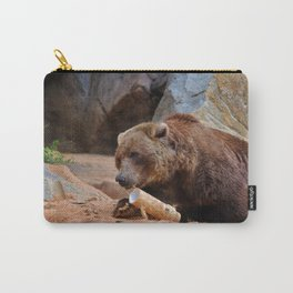 Teddy Bear At Play Carry-All Pouch