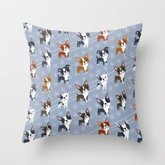 Boston Terriers Throw Pillow