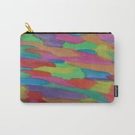 Sugar Rush Candy Colored Abstract Carry-All Pouch